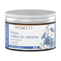 Maschera capelli lino, Sylveco