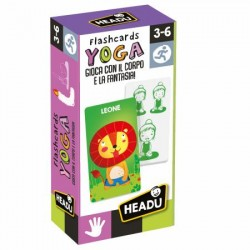 Flashcards yoga, Headu