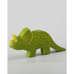 Triceratopo in caucciù...