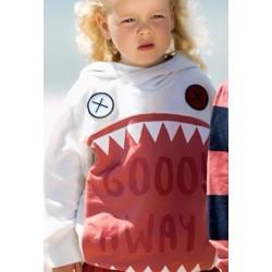 Felpa Giant shark hoodie...