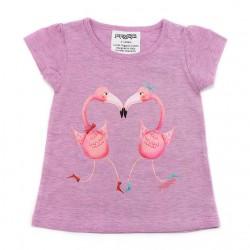 T-shirt fenicotteri, PIPI&PUPU