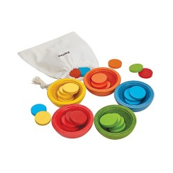 Sort & Count Cups, Plan Toys